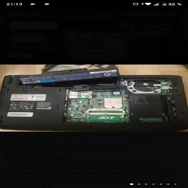 Acer Aspire 5535 piezas