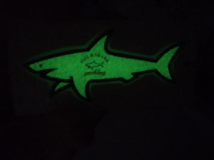 Adhesivos paul & shark luminosos original nuevos,