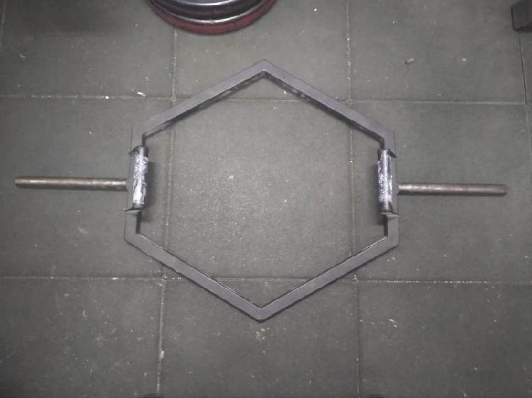 Barra hexagonal / peso muerto y trapecio