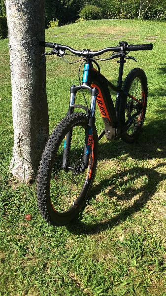 Bicicleta eléctrica giant fathom e +3 ebike