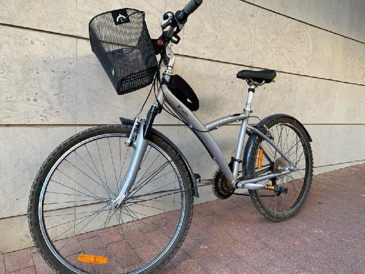 Bicicleta mixta paseo montaña
