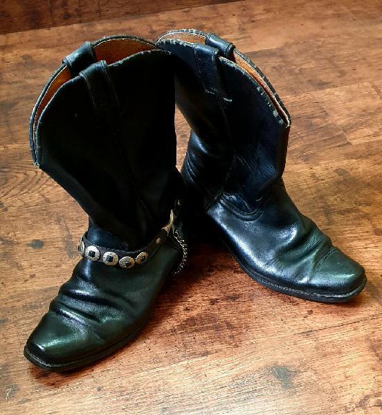 Botas cowboy con espuelas sancho (precio fijo