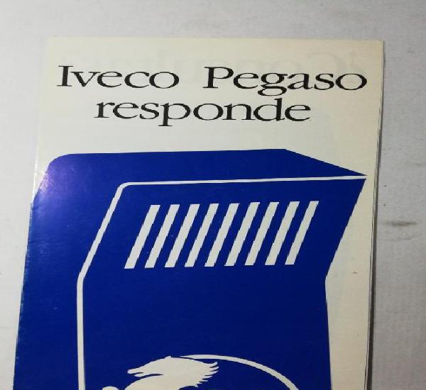 Camión iveco pegaso folleto iveco pegaso responde (zceta)