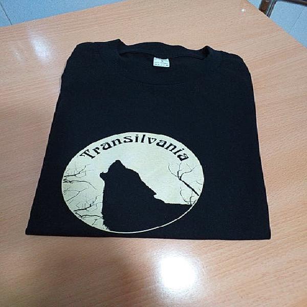 Camiseta transilvania manga corta