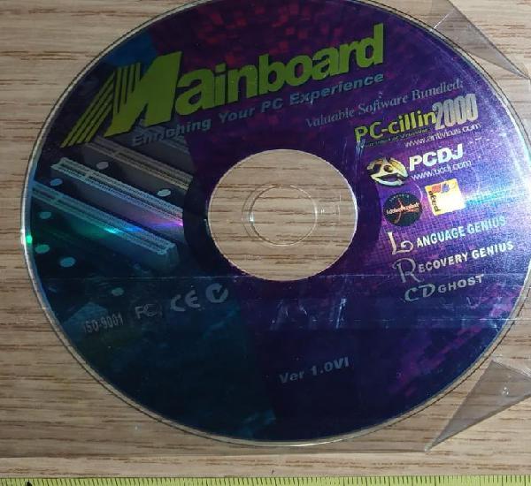 Cds de instrucciones configuraciones mainboard enriching pc
