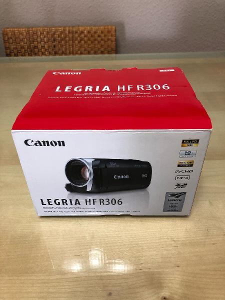 Cámara de vídeo hd canon legria hf r306