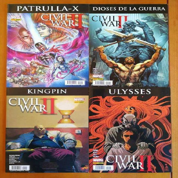 Civil war ii crossovers completa