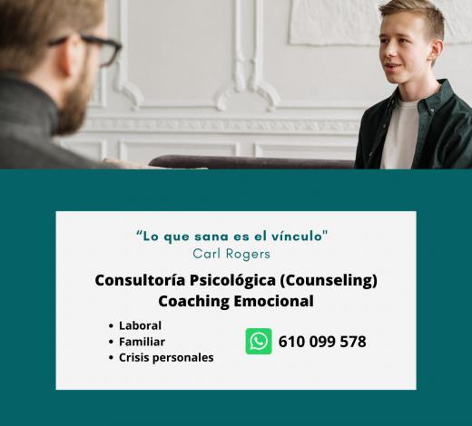 ConsultoríA PsicolóGica Y Coaching Emocional