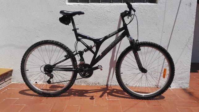 Decathlon fire full suspension bike