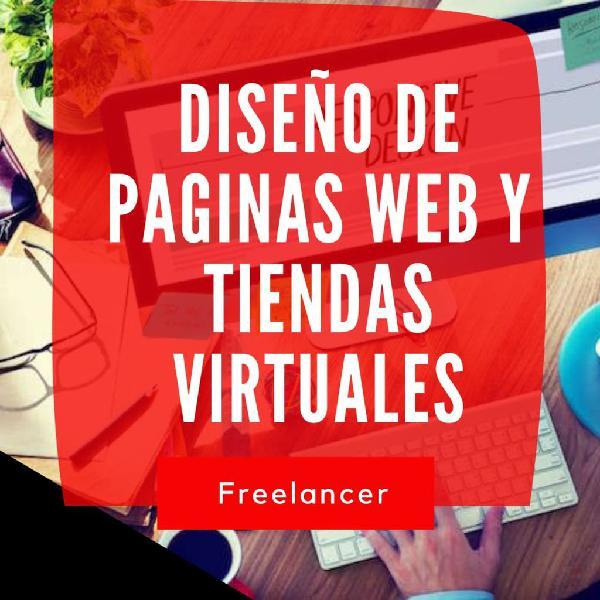 Diseño de páginas web y tienda online