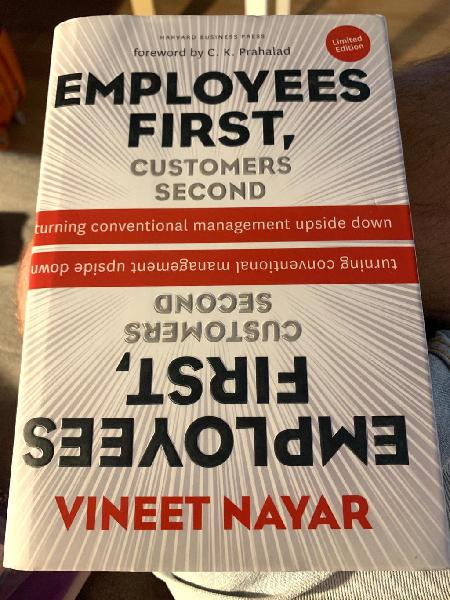 Employees first. customers second.
