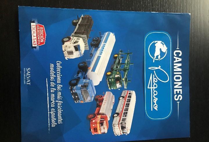 Fasciculo presentacion de la coleccion camiones pegaso de