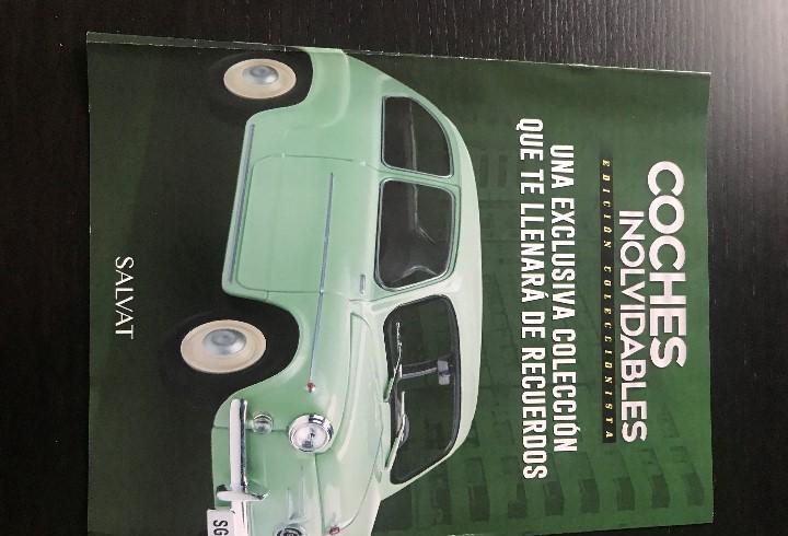 Fasciculo presentacion de la coleccion coches inolvidables
