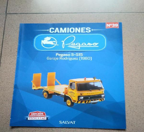Fascículo 39 pegaso s-515 garaje rodríguez (1980)