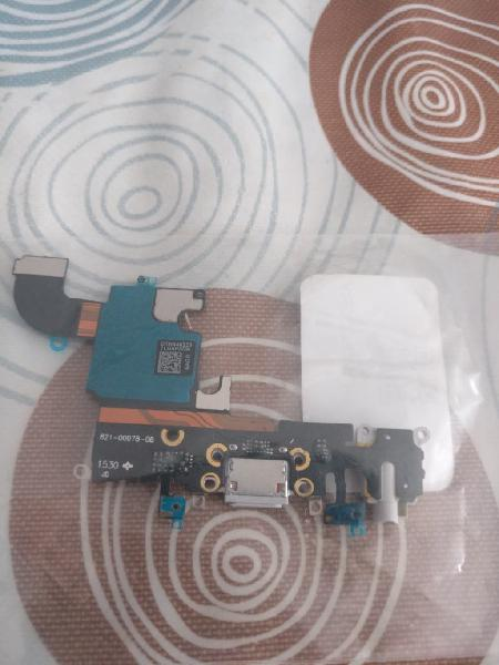 Flex conector de carga y audio para iphone 6s plus
