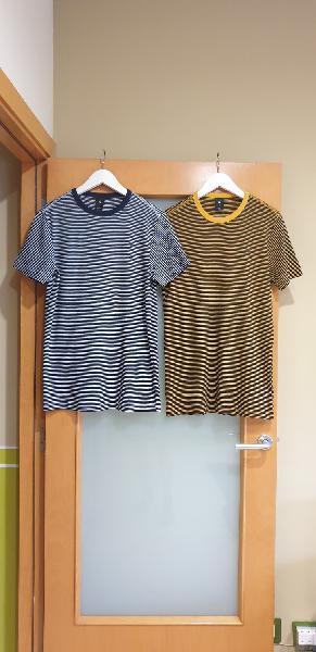 Ganga. dos camisetas g star. m. nuevas