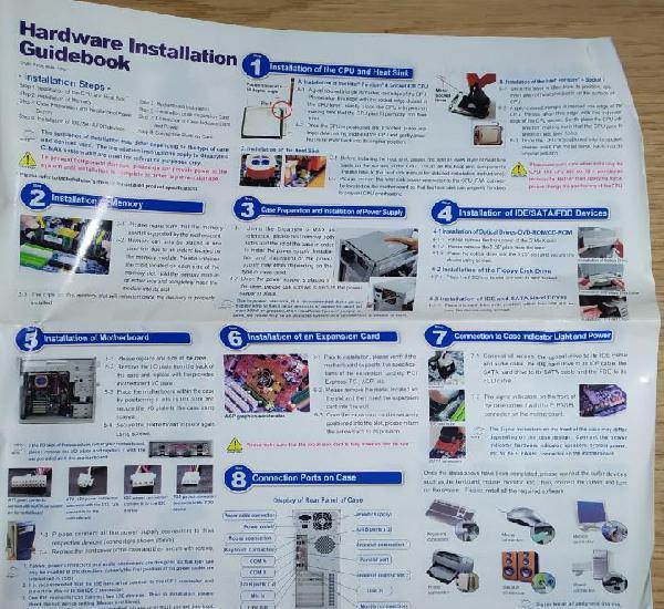 Hardware installation guidebook