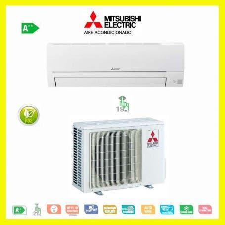 Instalacion aire acondicionado mitsubishi electric