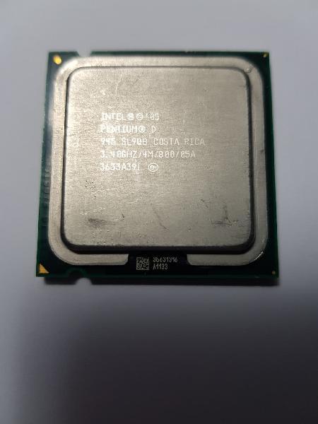 Intel pentium d945 3,40 ghz y ventiladores