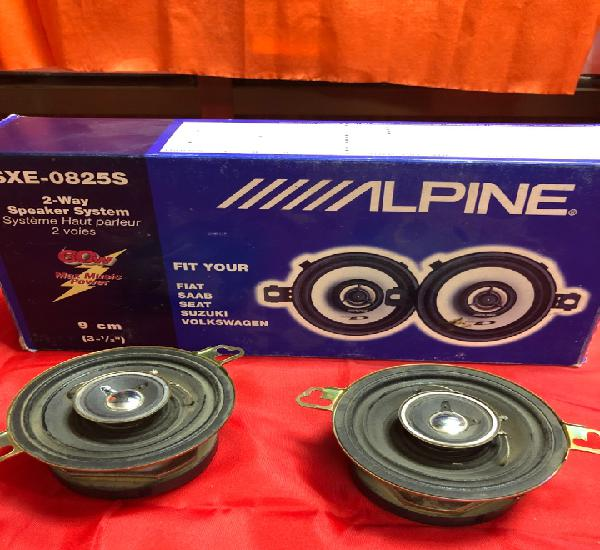 Juego altavoces alpine sxe-0825s 60w