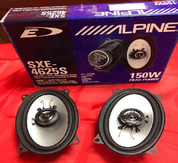Juego altavoces alpine sxe-4625s 150w