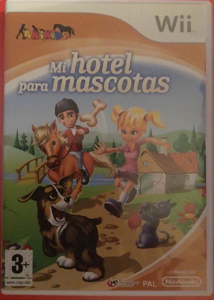 Juego hotel de mascotas wii