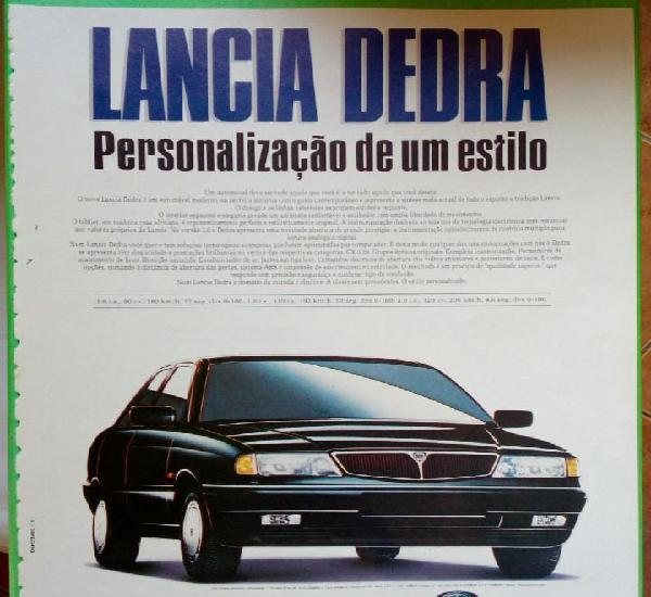Lancia dedra,publicidade pagina de revista. portugal