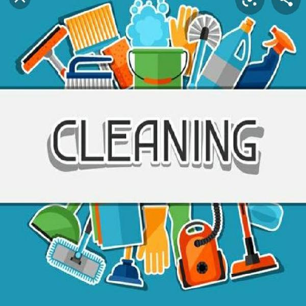 Limpieza de tu hogar o negocio.