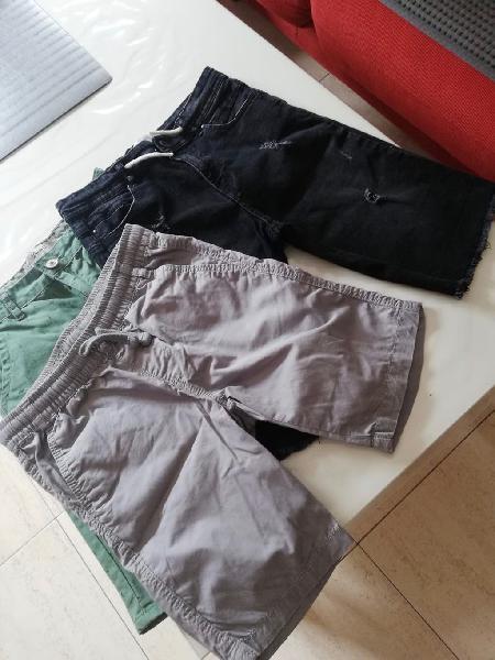 Lote 6 pares pantalones y deportivas.