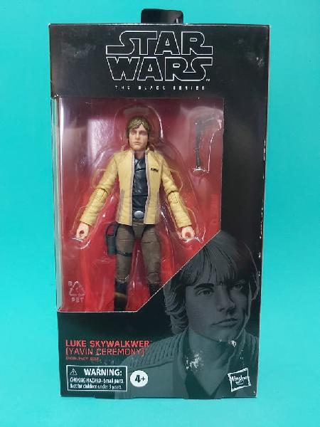 Luke skywalker yavin black series
