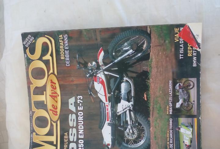 Motos de ayer. nº 103. motos clásicas de colección. ossa