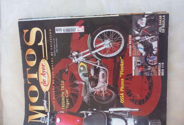 Motos de ayer. nº 47. motos clásicas de colección. yamaha