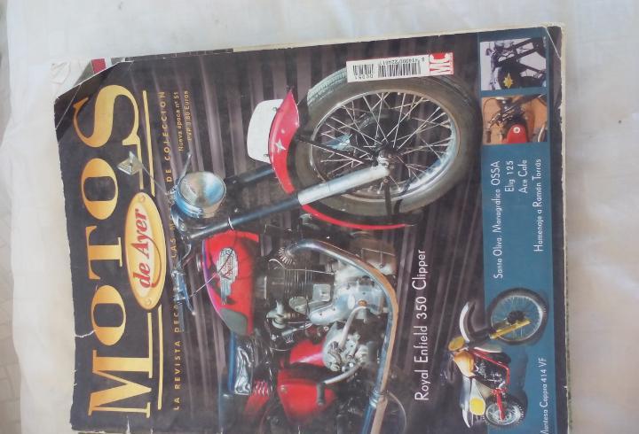 Motos de ayer. nº 51. motos clásicas de colección. royal