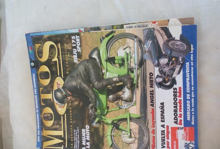 Motos de ayer. nº 67. motos clásicas de colección. rieju