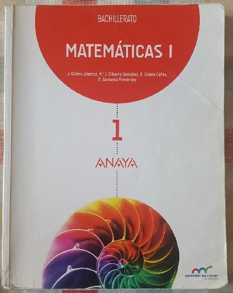 Matemáticas 1°bachillerato (ciencias)