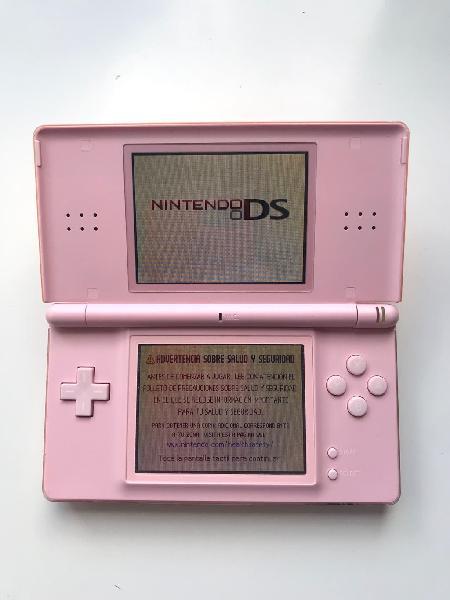 Nintendo ds slim edición rosa