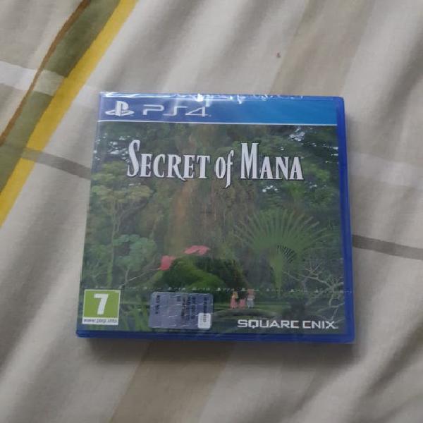 Nuevo (precintado) secret of mana ps4