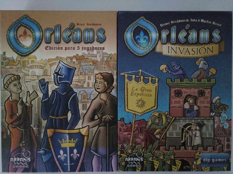 Orleans y 2 expansiones