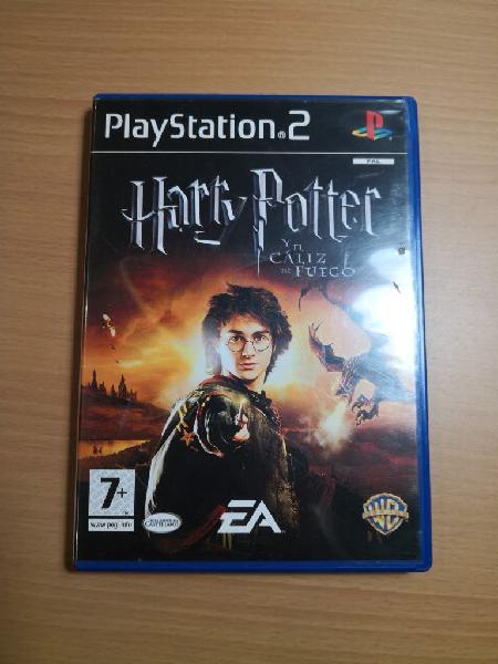 Ps2 juego harry potter y el caliz de fuego