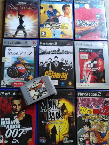 Ps2 juegos pack