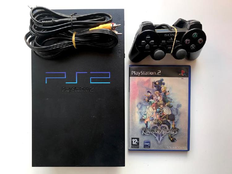 Playstation 2 (ps2) completa y kingdom hearts 2