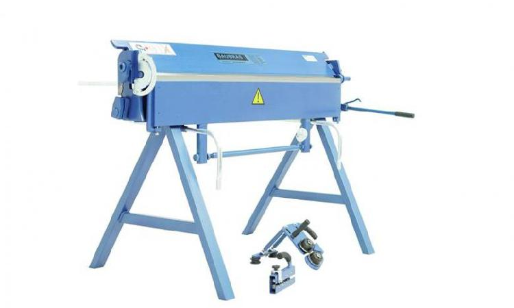 Plegadora manual dobladoras para chapas 1400/2mm de alu