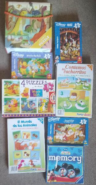 Puzzles 2-5 años