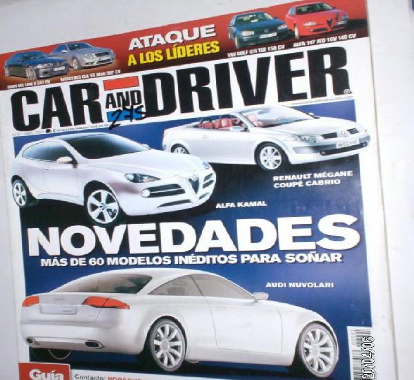 Revista car y driver nº91 abril 2003 bmw m3 smg,mercedes