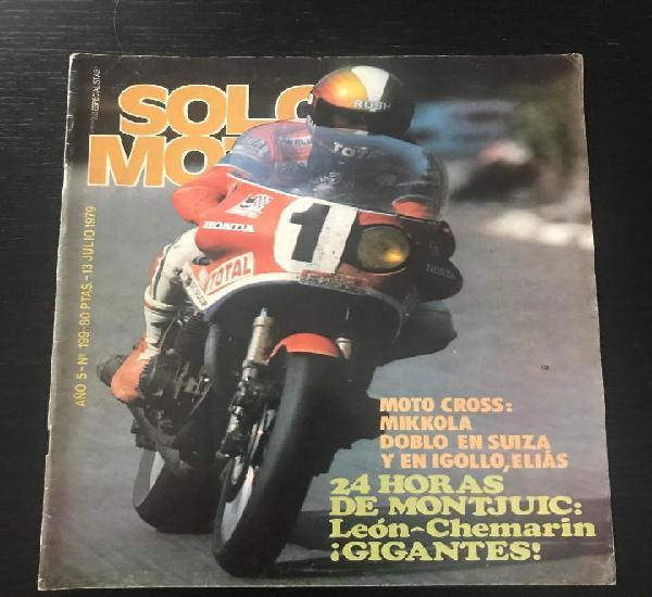 Solo moto nº 199 - bultaco frontera 74 jawa 50 años 24 h