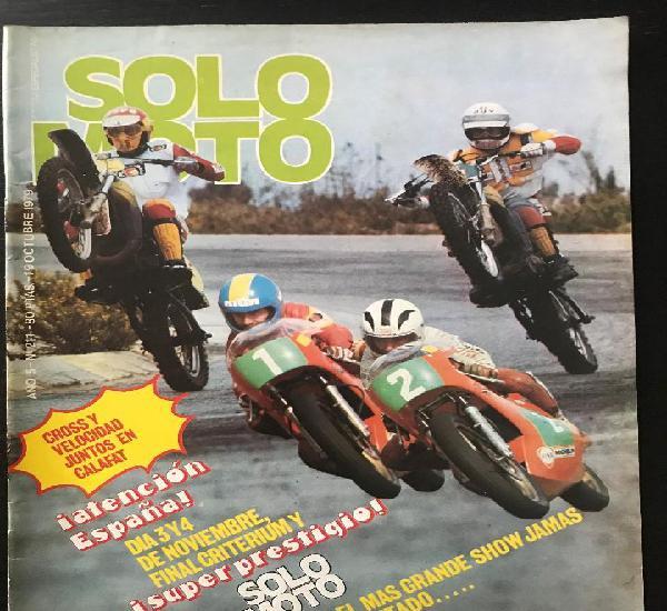 Solo moto nº 211 - trofeo senior 250 pedro soler tt tajuña
