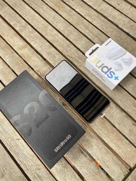 Samsung galaxy s20 ultra, cascos galaxy buds