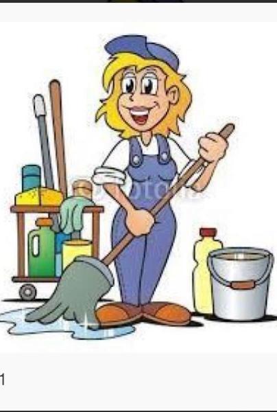 Señora limpieza española