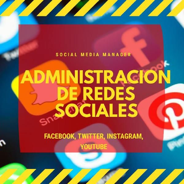 Social media manager gestiona tus redes sociales