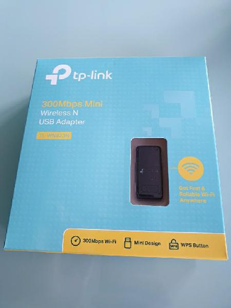 Tp-link tl-wn823n-mini adaptador usb inalámbrico